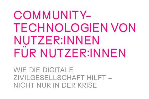 Publikation: Wie Community-Technologien unser (digitales) Leben erleichtern